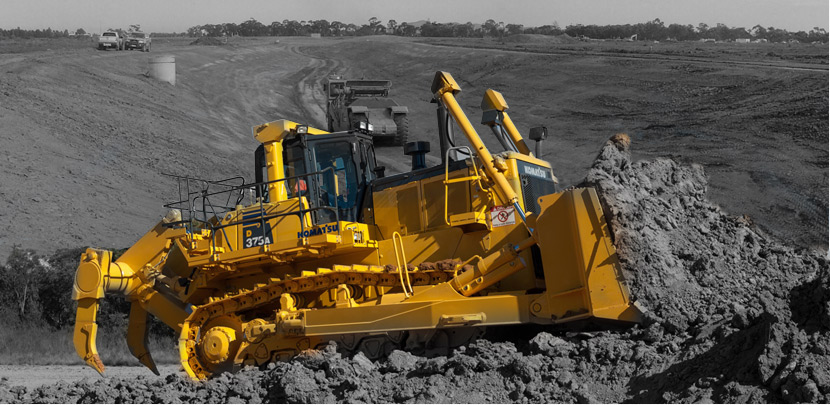 dozer training courses Brisbane RIIMPO308D Conduct Tracked Dozer Operations